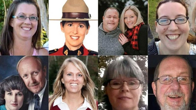 کشته شدگان تیراندازی کانادا