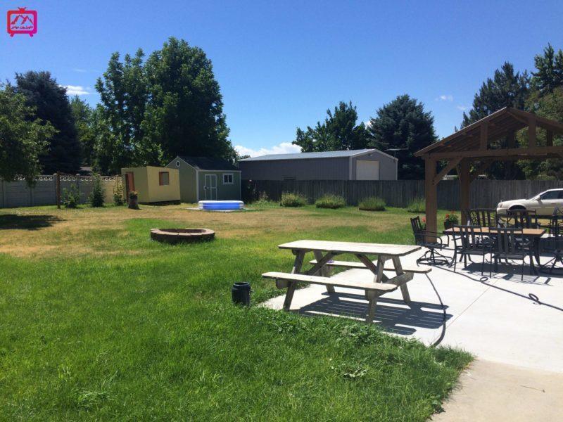 حیاط خانه در آمریکا