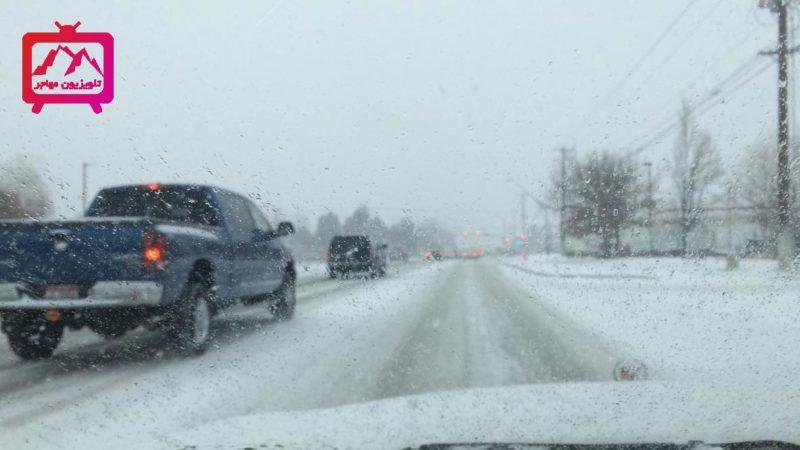 رانندگی در زمستان آیداهو