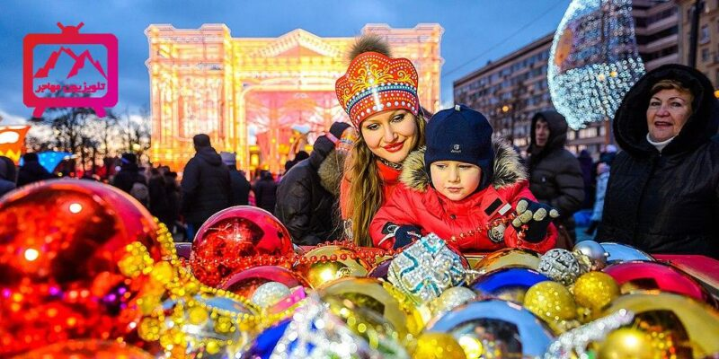 کریسمس و سرما در روسیه