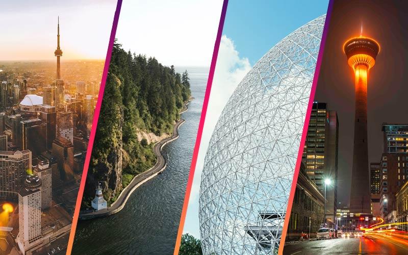 بزرگترین شهر های کانادا