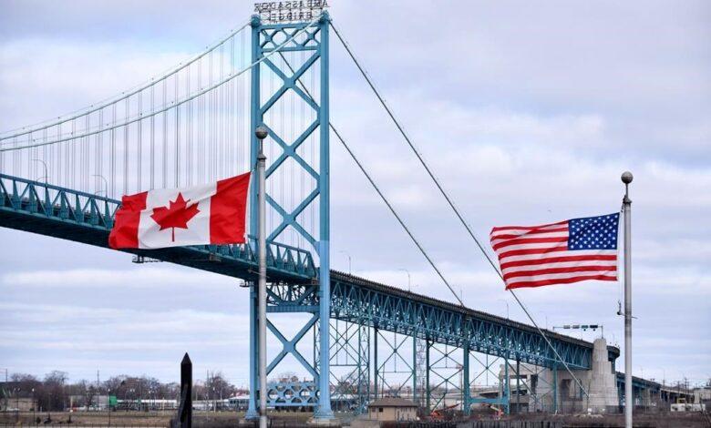 محدودیت مرزی کانادا