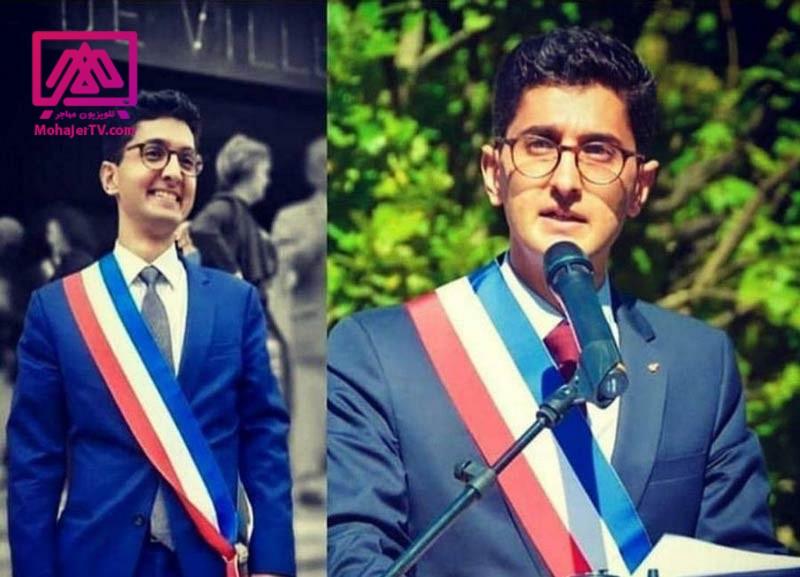 شهردار ایرانی فرانسه