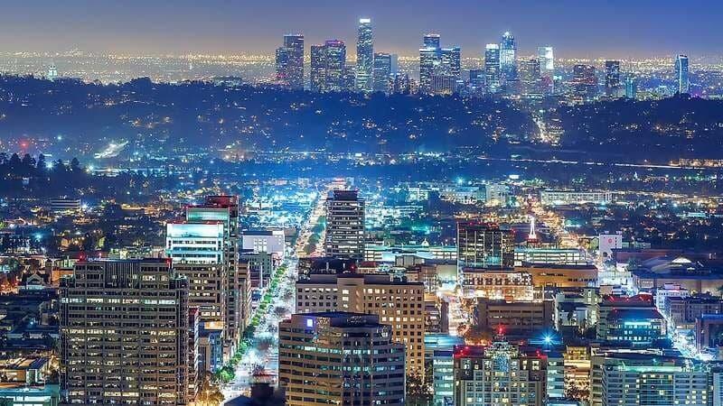 گران ترین شهر آمریکا لس آنجلس